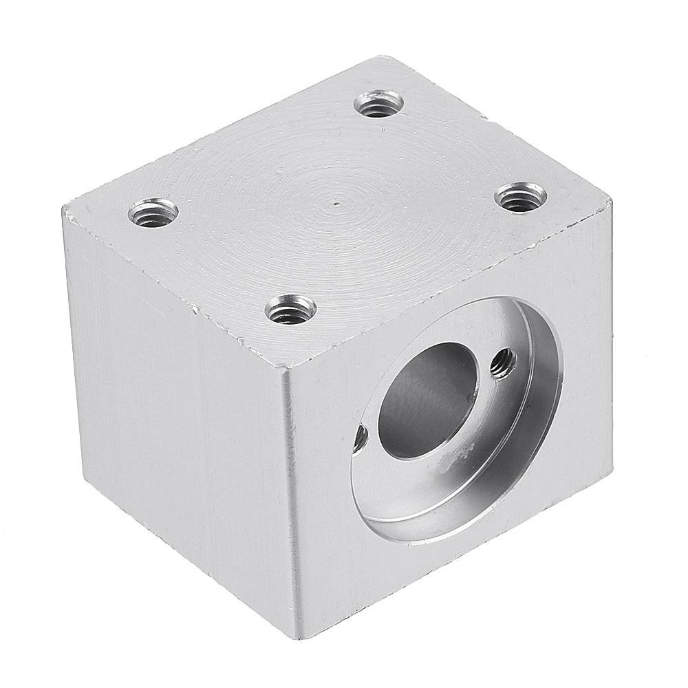 Machifit T8 Lead Screw Nut Housing Bracket 35x35x28mm Aluminum Alloy Housing for T8 Lead Screw