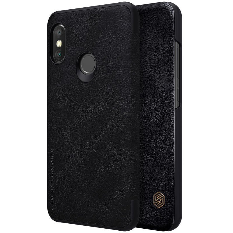 reputable site 7afc3 f3b11 NILLKIN Flip Shockproof Smart Sleep Leather Protective Case For Xiaomi Mi  A2 Lite/Xiaomi Redmi 6 Pro
