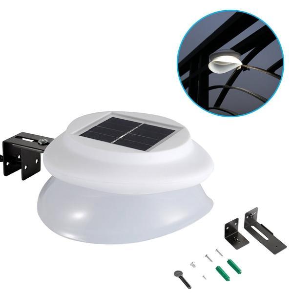 Waterproof 9 LED Solar Light Sensor Security Lamp for Outdoor Street Wall Garden Path, Banggood  - buy with discount
