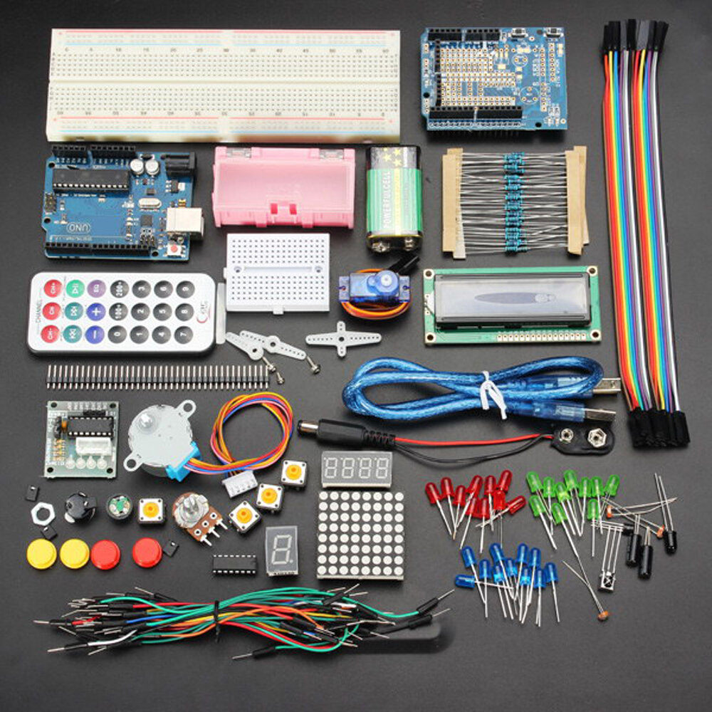 Arduino scm & diy Geekcreit UNO R3 Basic Learning Starter Kits Upgrade Version Geekcreit for Arduino - products that work with official Ar фото