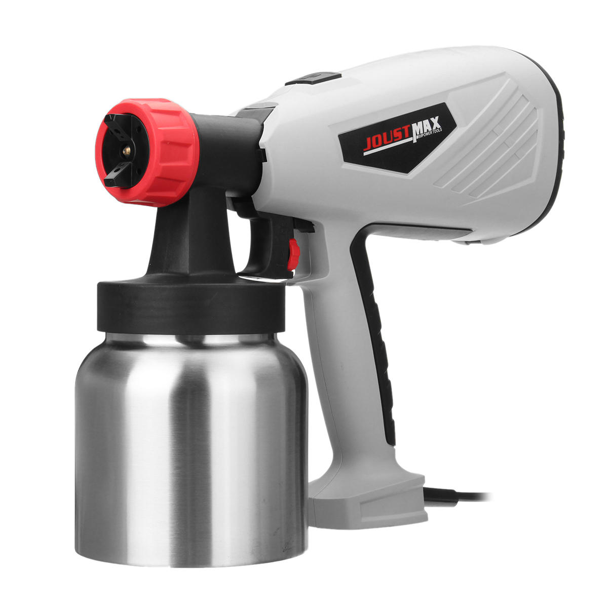 Electric Easy Spray Paint Sprayer Home Car Painting 1.8 +2.5mm Adjustable Nozzle - 4