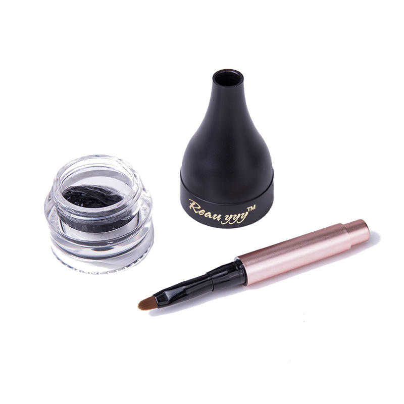 5g Black Eyebrows Dyed Cream Natural Fibre Increase Eyebrow Makeup Tools Long-Lasting