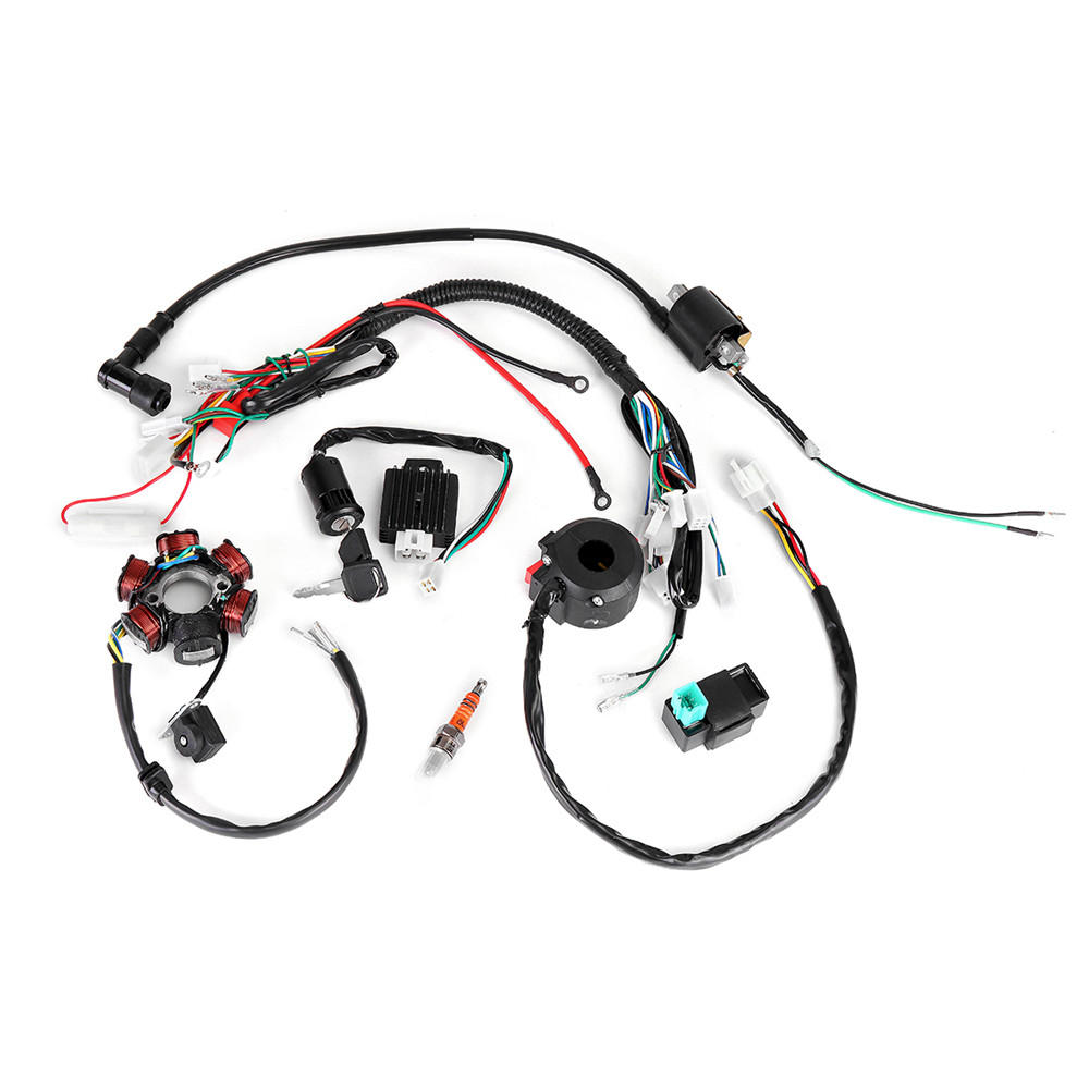Cdi Wiring Harness - Wiring Diagram Dash on coil wiring diagram, chinese 110 atv wiring diagram, chinese scooter wiring diagram, horn wiring diagram,