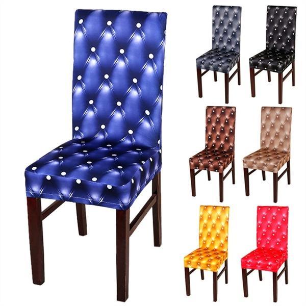 Honana WX-990 Elegante Spandex Elastic Stretch Chair Fundas de asiento para bodas Party Decor Comedor Chair Cover