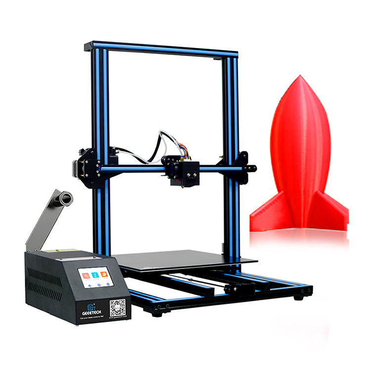 Geeetech® A30 Desktop 3D Printer 320*320*420mm Large Printing Size With Auto-Leveling Filament Detector Support Break-resuming WIFI Connect 1.75mm 0.4mm Nozzle