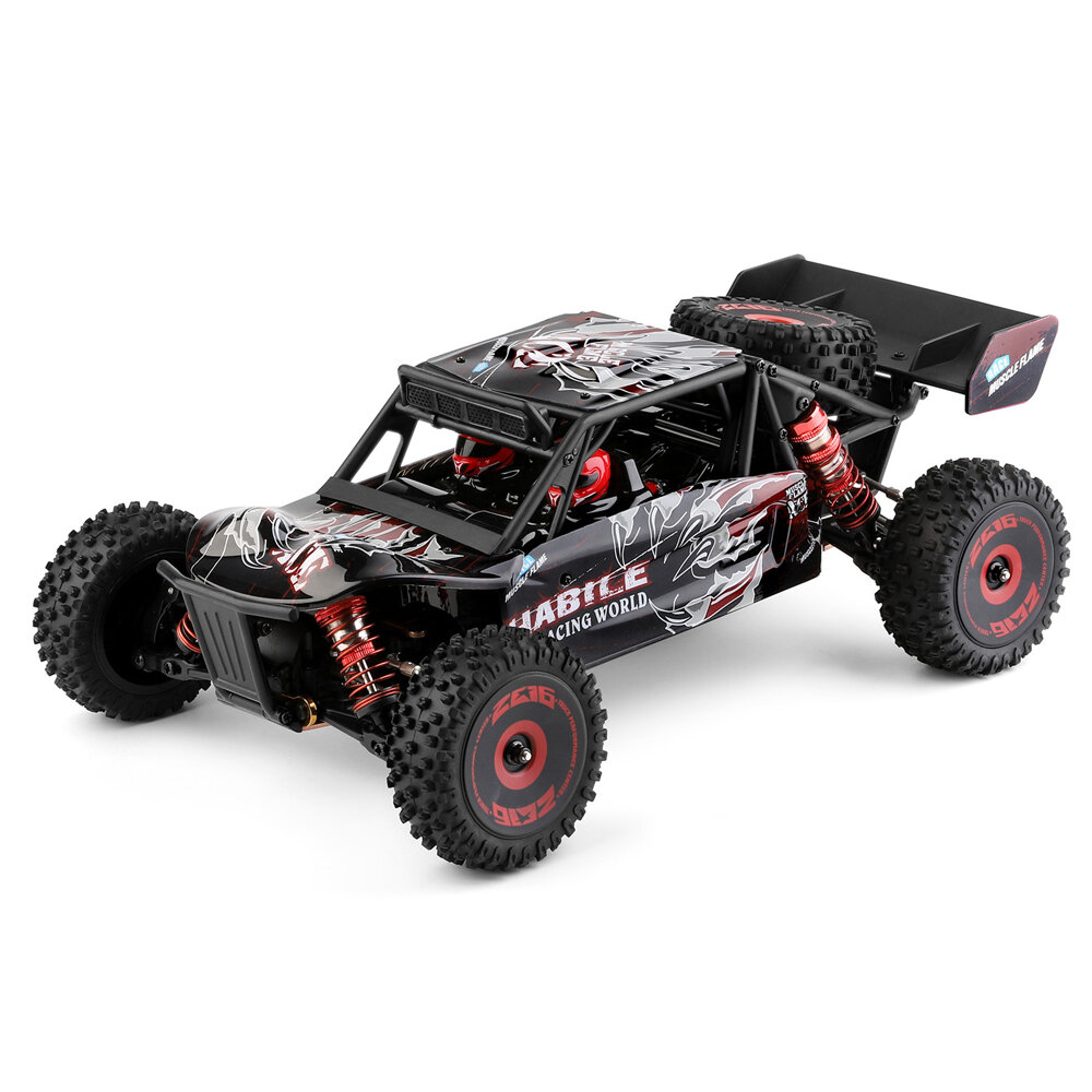 Wltoys 124016 1/12 4WD 2.4G RC Car Brushless Desert Truck Off-Road Vehicle Models High Speed 75km/h Metal Chassis