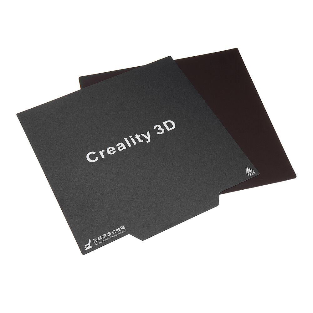 Creality 3D® 235*235mm Flexible Cmagnet Build Surface Plate Soft Magnetic Heated Bed Sticker With Back Glue For Ender-3 3D Printer