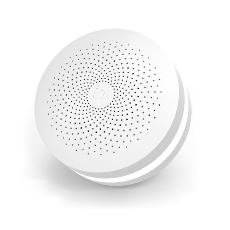 [Versi Upgrade] Original Xiaomi Mijia Smart Home WIFI Remote Control Multifungsi Gateway Bekerja dengan Mijia Smart Sensor Kit