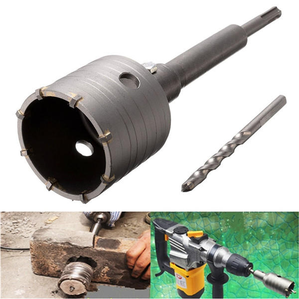 10pcs 16-53mm TCT Carbide Alloy Hole Saw Cutter Set Drill Bit - 1