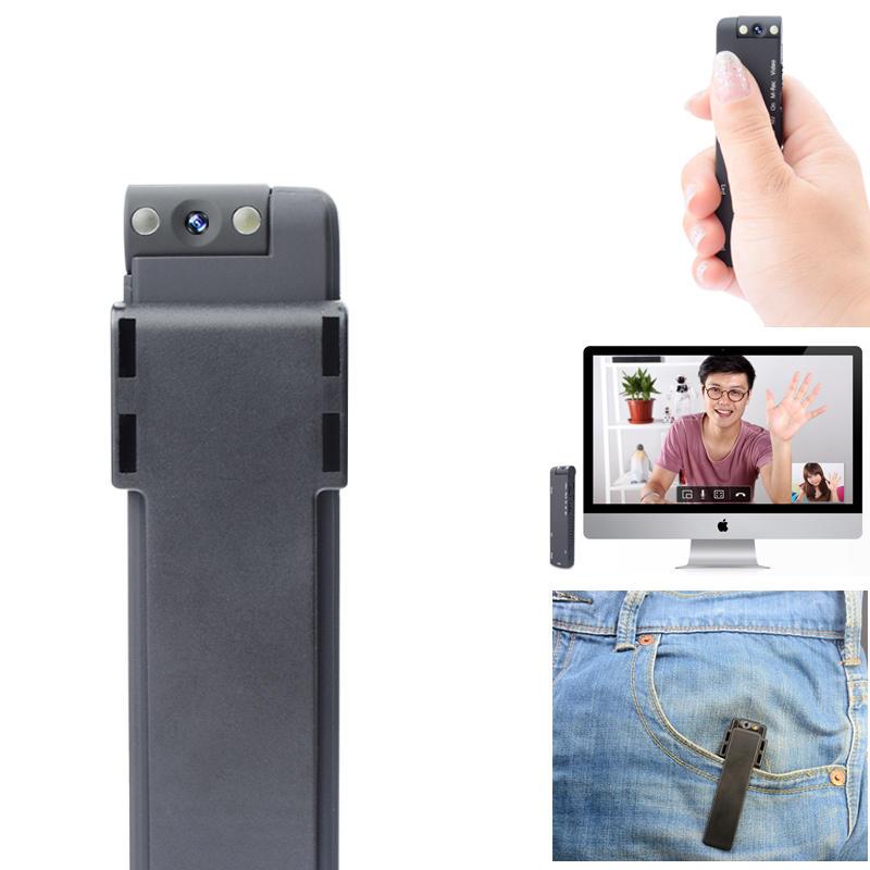 XANES MD14 HD 1080P 180°Rotation Détection de Mouvement LED Lumière de Remplissage Mini Sport Caméra Audio Vidéo Enregistreur DV