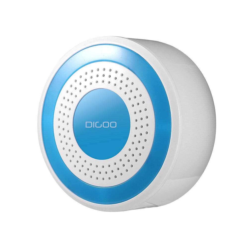 Digoo DG-ROSA 433 MHz Không dây DIY Báo động độc lập Còi Đa chức năng Hệ thống báo động an ninh gia đình Máy chủ & Còi Set