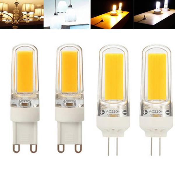 E27/E14/G9/GU10/B22 7W 2835 SMD LED Corn Bulb Warm/White 220V Home Lamp - 1