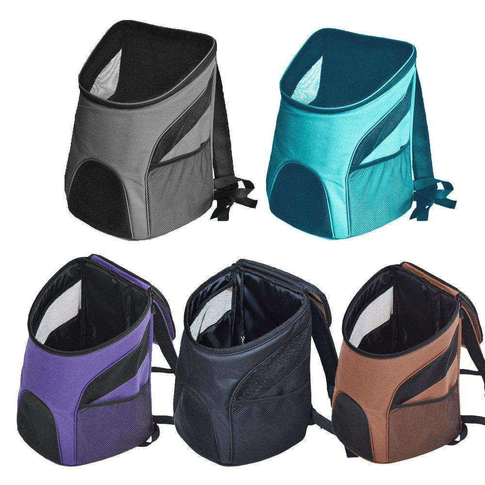 Pet Carrier Premium Travel Outdoor Mesh Backpack Carry Borsa Accessorio per cane Cat Rabbit Small Pets Cage - 7