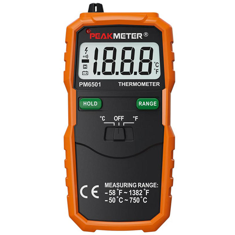 PEAKMETER PM6501 Professtional LCD Display K Type Digital Thermometer Temperature Meter Thermocouple with Data Hold