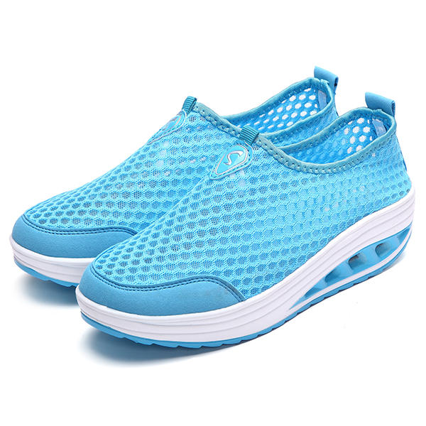 Large Size Women Outdoor Walking Casual Comfy Sneakers - 4