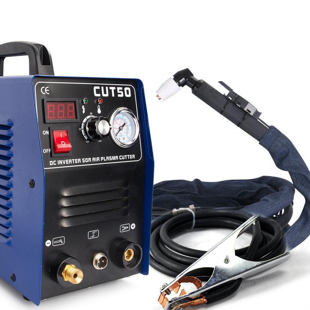 CUT50 220V 50A Plasma Cutter Plasma Cutting Machine with PT31 Cutting Torch Welding Accessories