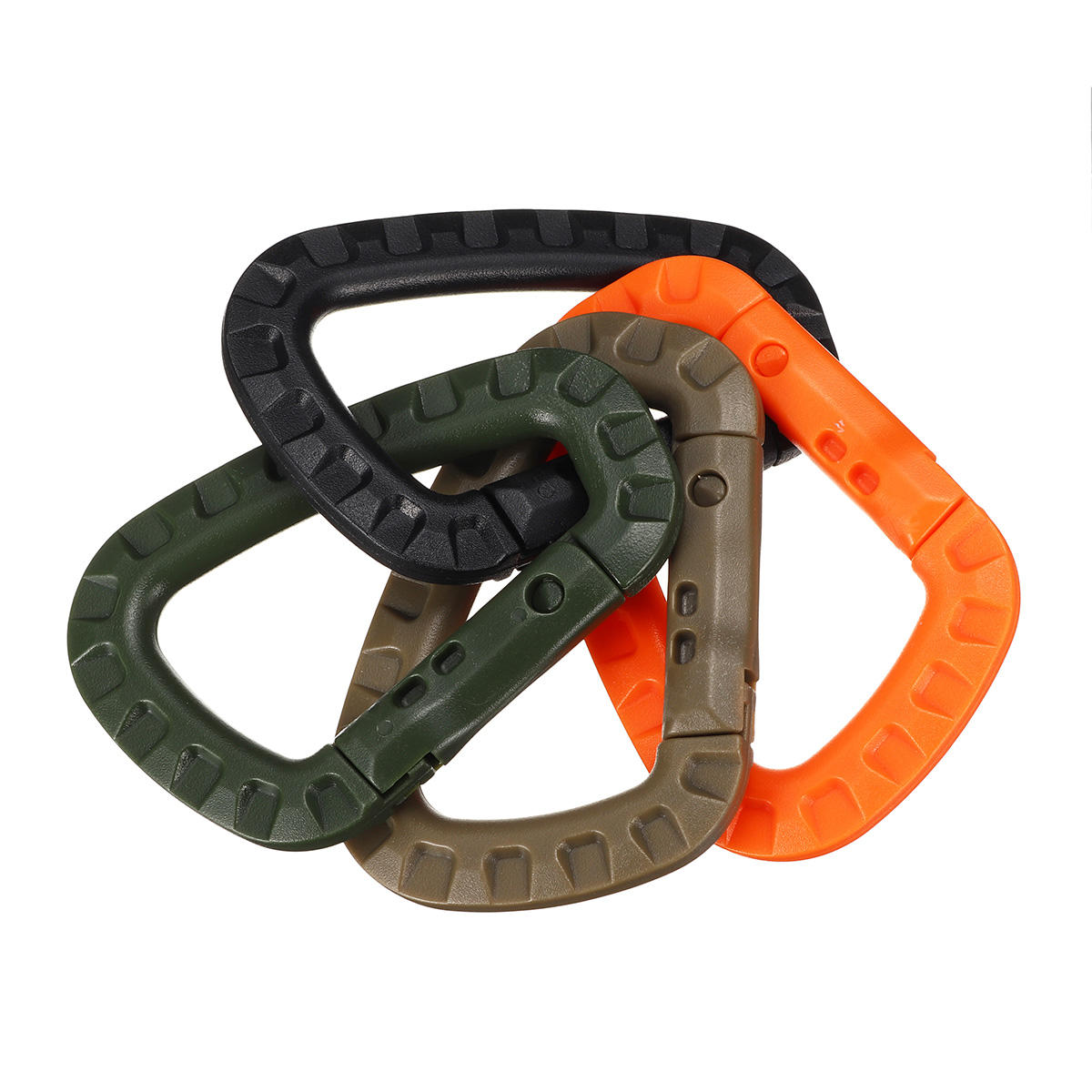 Carabiner Small Cari Keychain Clip Spring Link D Shape Fast Hang Buckle Climbing Hook Key Chain