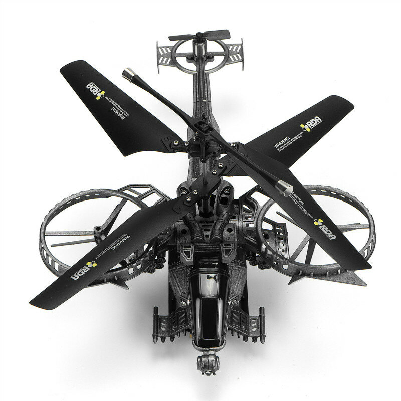Eachine E119 2.4G 4CH 6-Axis Gyro Flybarless RC Helicopter RTF - 3