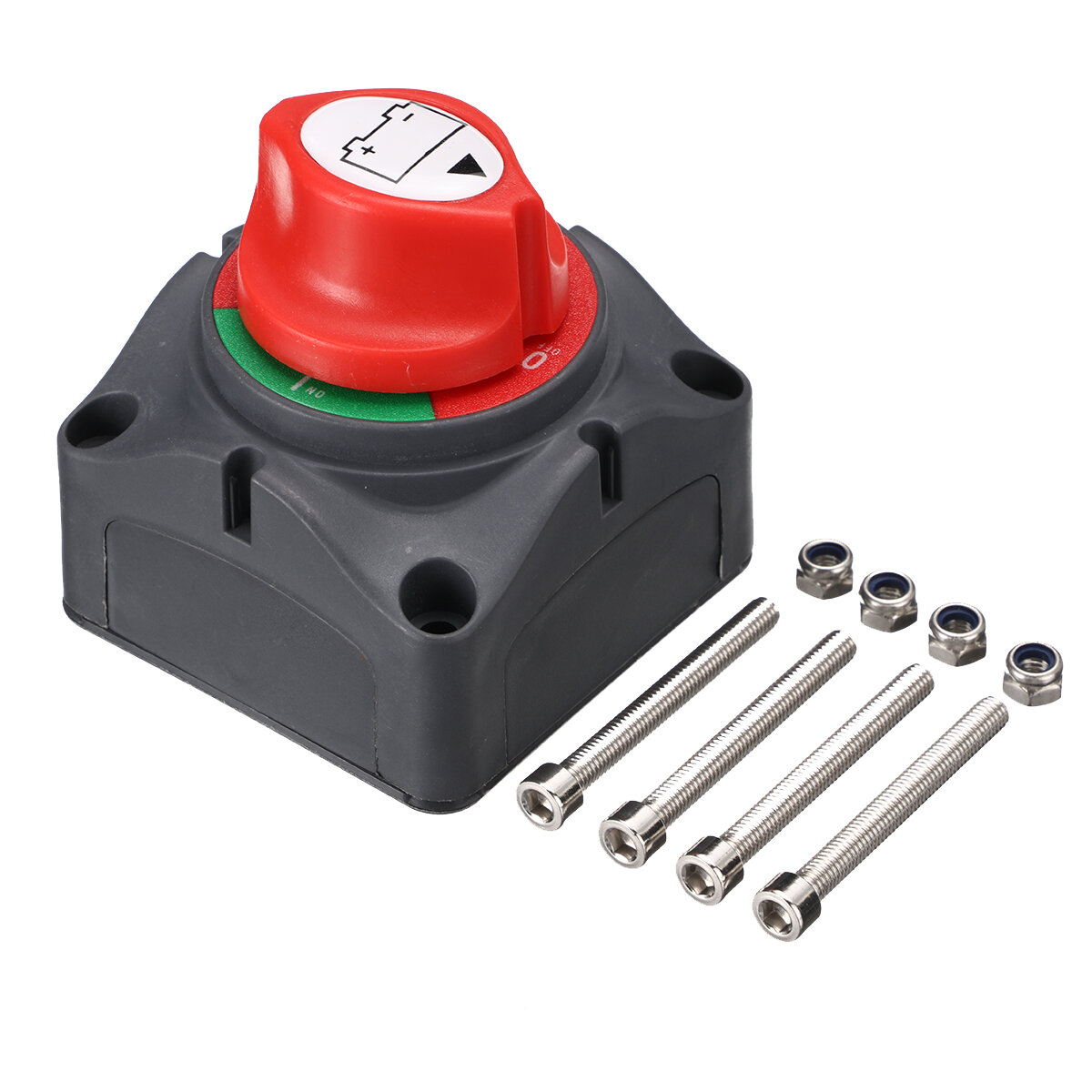 12V-48V 100A-300A Battery Master Switch Car RV Boat Marine Dual System Selector Isolator On/Off