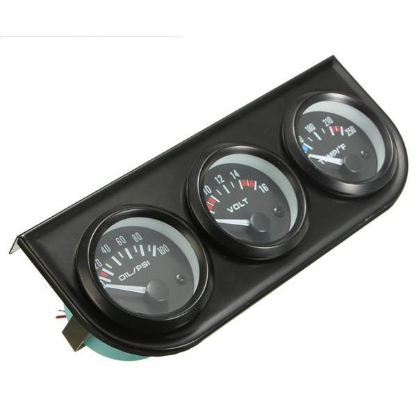 Motorcycle Car DC 5V - 48V LED Panel Digital Voltage Volt Meter Display Voltmeter - 2