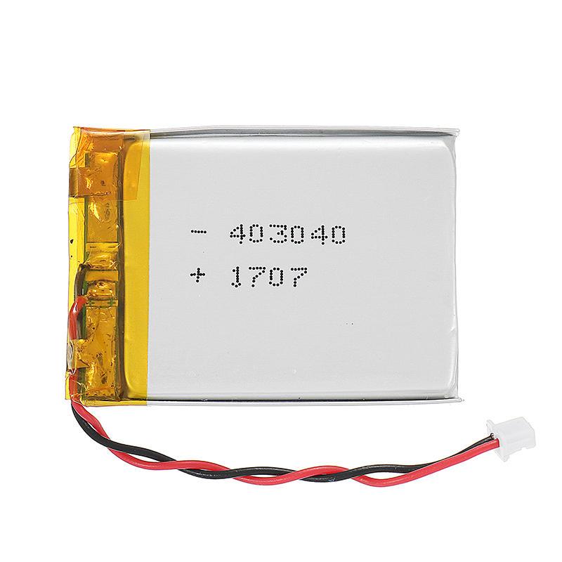 3.7V 500mAh LiPo Battery Molex Pico 1.25mm 2P Connector Plug Universal Power Supply Free DIY For Eachine VR006 VR005 FPV Goggles RC Drone Mini Aircraft