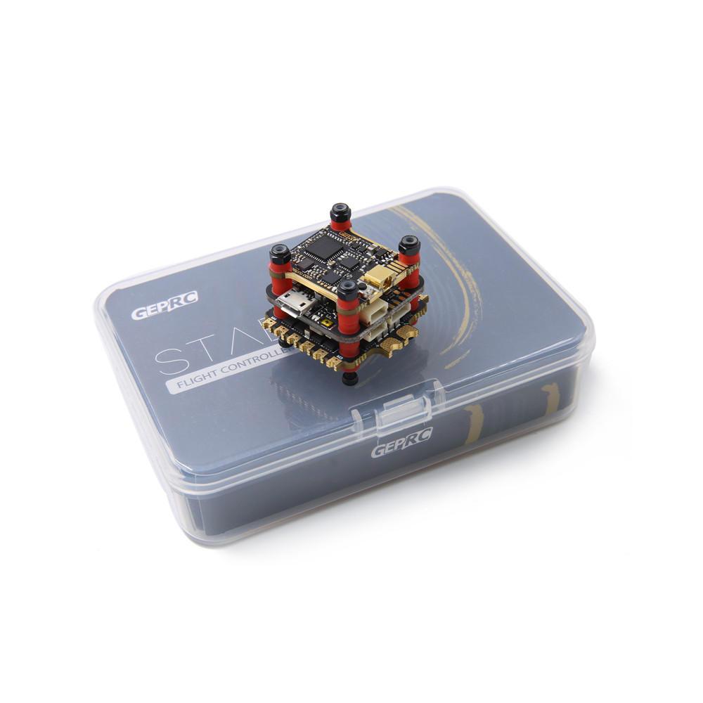 Geprc Stable Pro F7 Stack Dual Gyro F7 Pengendali Penerbangan & 35A BLheli_32 4in1 ESC & 5.8G 500mW VTX untuk RC Drone