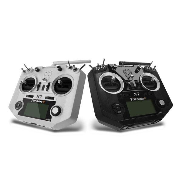 FrSky ACCST Taranis Q X7 Transmitter 2.4G 16CH Modus 2 Hvit Svart Internasjonal Versjon for RC Drone