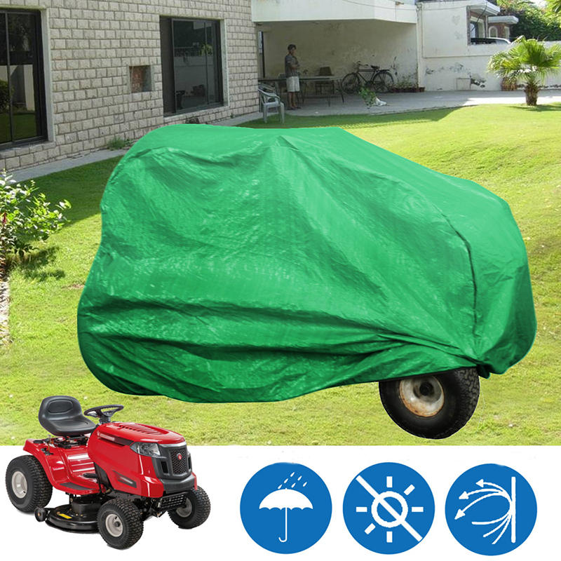 65x40x44inch Waterproof Lawn Tractor Cover Shield UV Lawn Machine Dust Covers Shade