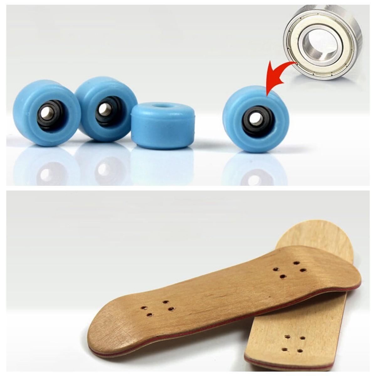 Houten dek toetsboard esdoorn hout met lagers Kids Gift Decorations - 9
