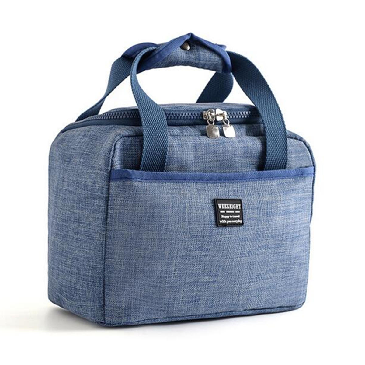 Insulated Lunch Bag Soft Cooler Waterproof Thermal Work School Picnic Bento Storage Carry Case