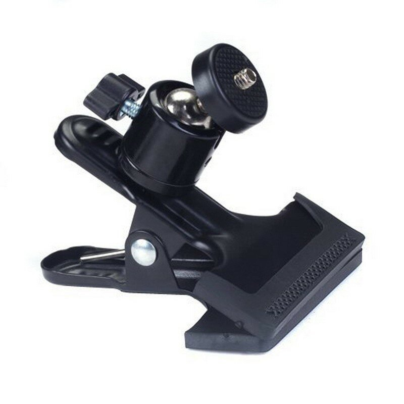 Multi-function Clip Clamp Holder Mount with Standard Ball Head 1/4 Screw