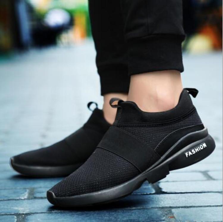 RT 622 Outdoor Men Slip On Mesh traspirante Casual Sneakers Athletic Running Scarpe sportive - 4