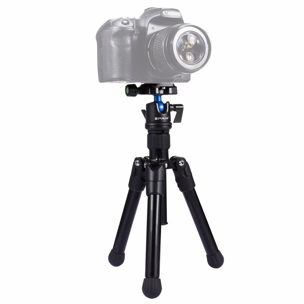 100BTF BF668 Foldable 46cm 153cm Tripod with Removable Ball Head Max Load 10KG - 1