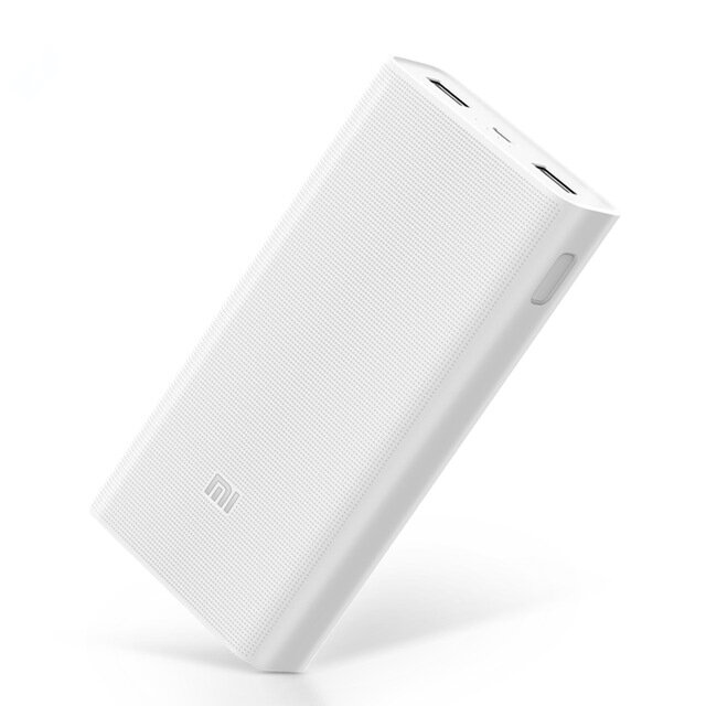 release date: 02077 126ac Original Xiaomi 2C 20000mAh Quick Charge 3.0 Polymer Power Bank 2 Dual USB  Output