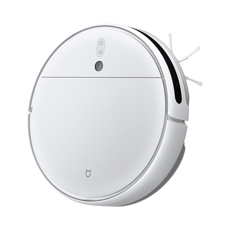 Xiaomi Mijia 2C Smart Robot Vacuum Cleaner Sweeping Mopping 2700Pa Visual Navigation System 3200mAh APP Control with Antibacterial Mop Clothes