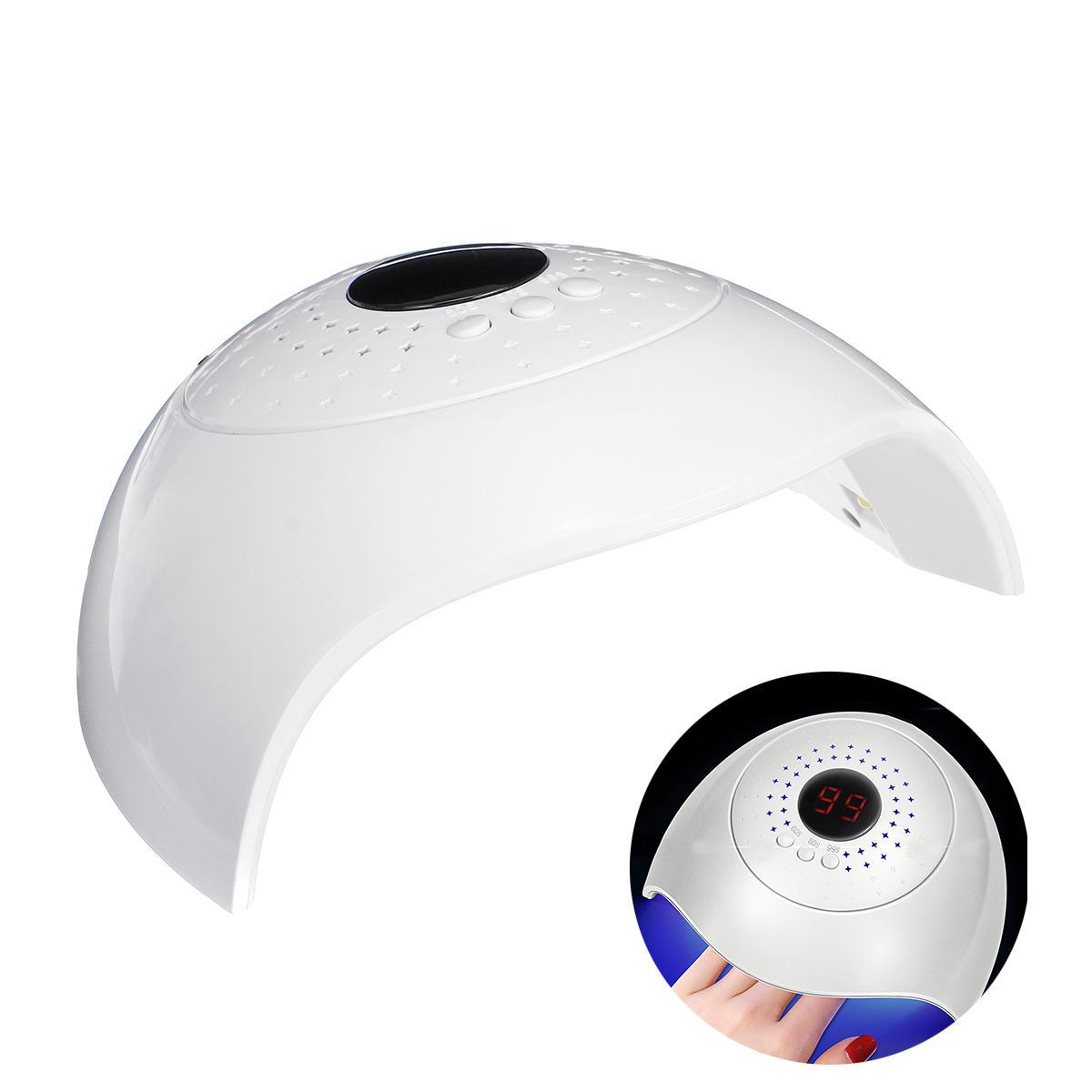 36W LED Nail Lamp Gel Nail Polish Dryer UV Light Fast Curing Machine Auto-Timer Sensor