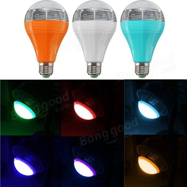 Mipow E27 5W RGB Color Changing bluetooth Intelligent Smart LED Light Bulb 110-240V - 3