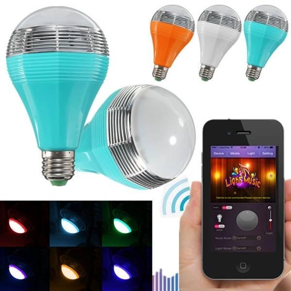 Mipow E27 5W RGB Color Changing bluetooth Intelligent Smart LED Light Bulb 110-240V - 1