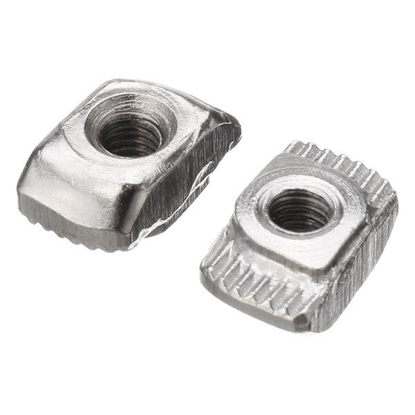 Drillpro 50pcs M3 T Sliding Nut Zinc Plated Carbon Steel T Sliding Nut for 2020 Aluminum Profile фото