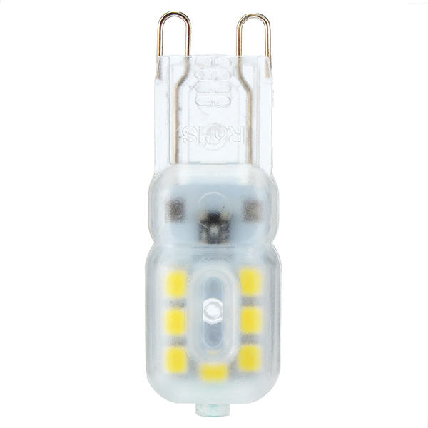 ZX Dimmable G9 3W Transparent Milky 14 SMD 2835 LED Pure White Warm White Corn Light 110V 220V - 5
