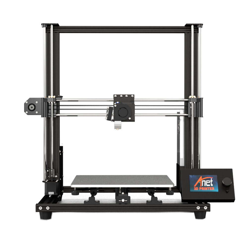 Anet® A8 Plus DIY 3D Printer Kit 300*300*350mm Printing Size With Magnetic Movable Screen/Dual Z-axis Support Belt Adjustment