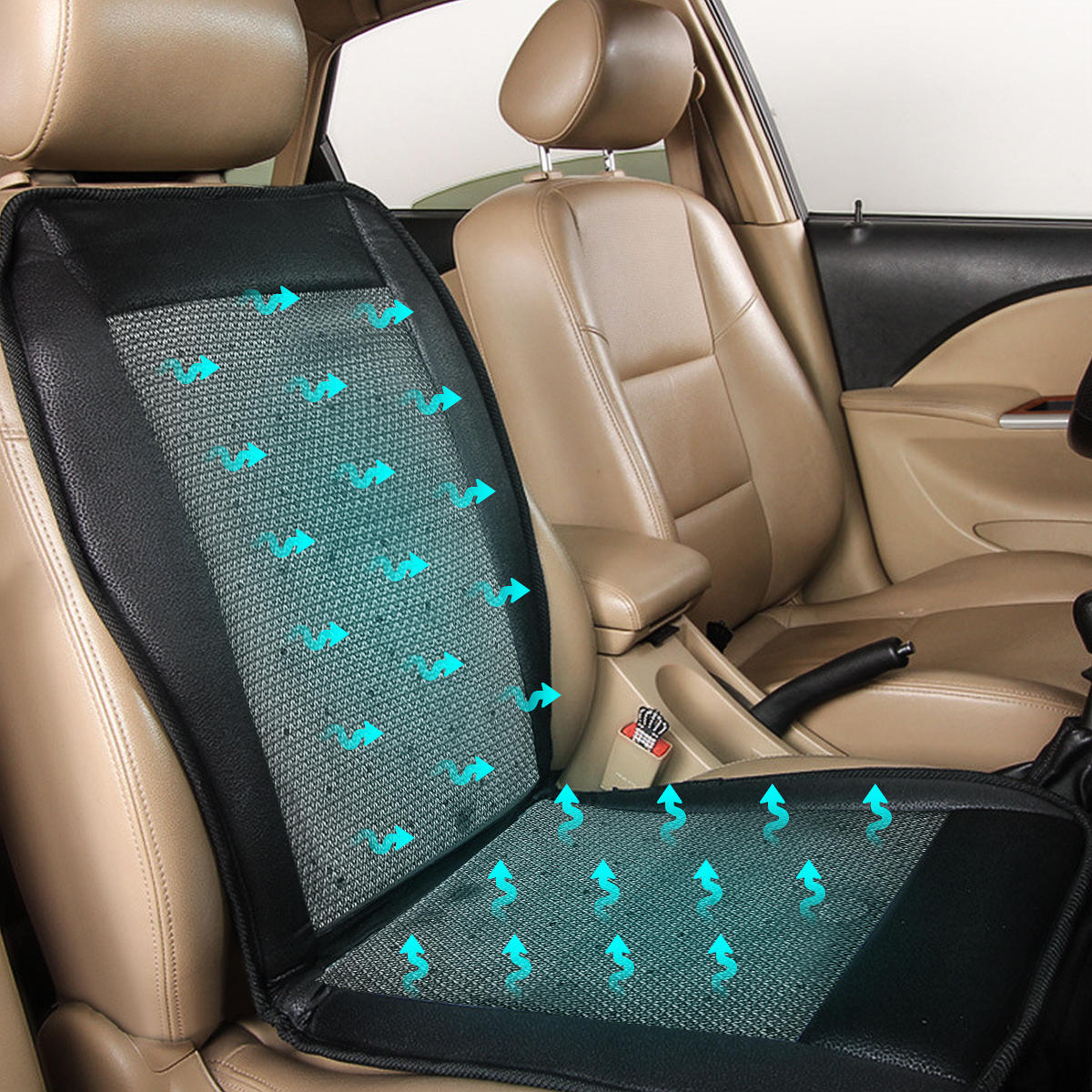 12v Cooling Car Seat Cushion Cover, Best Car Seat Cooling Pad