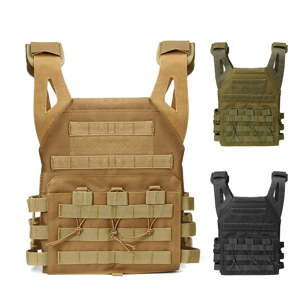 Tactical Multi-function Vest Oxford Cloth Mountaineering Water Repellent Safety Protection Vest