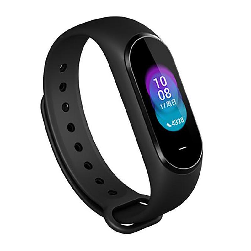 """Heyplus B1800 0,95 """"AMOLED цветной экран NFC 5ATM Водонепроницаемы Умный браслет Сердце Оценить артериальное давление Монитор Hey + Smart Watch"""