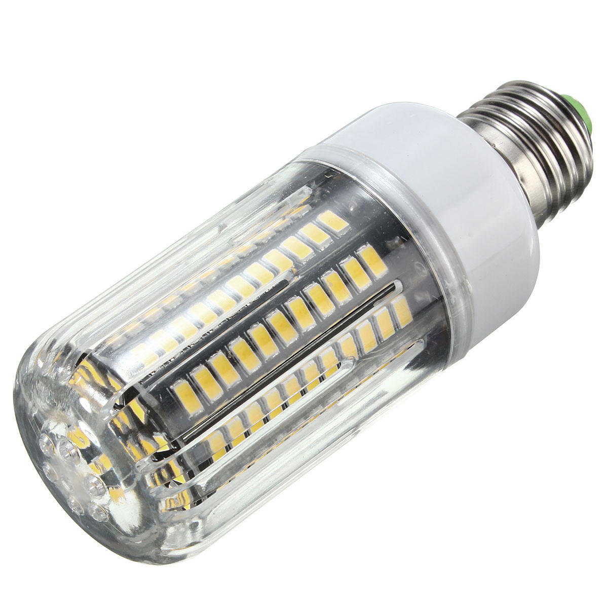 E27 E14 E12E E17 B22 15W 130 SMD 5736 LED Pure White Warm White Cover Corn Bulb AC85 265V - 11