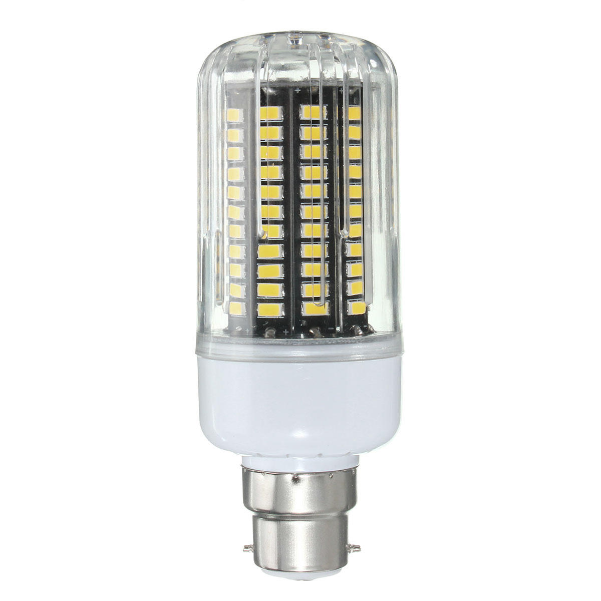 E27 E14 E12E E17 B22 15W 130 SMD 5736 LED Pure White Warm White Cover Corn Bulb AC85 265V - 10