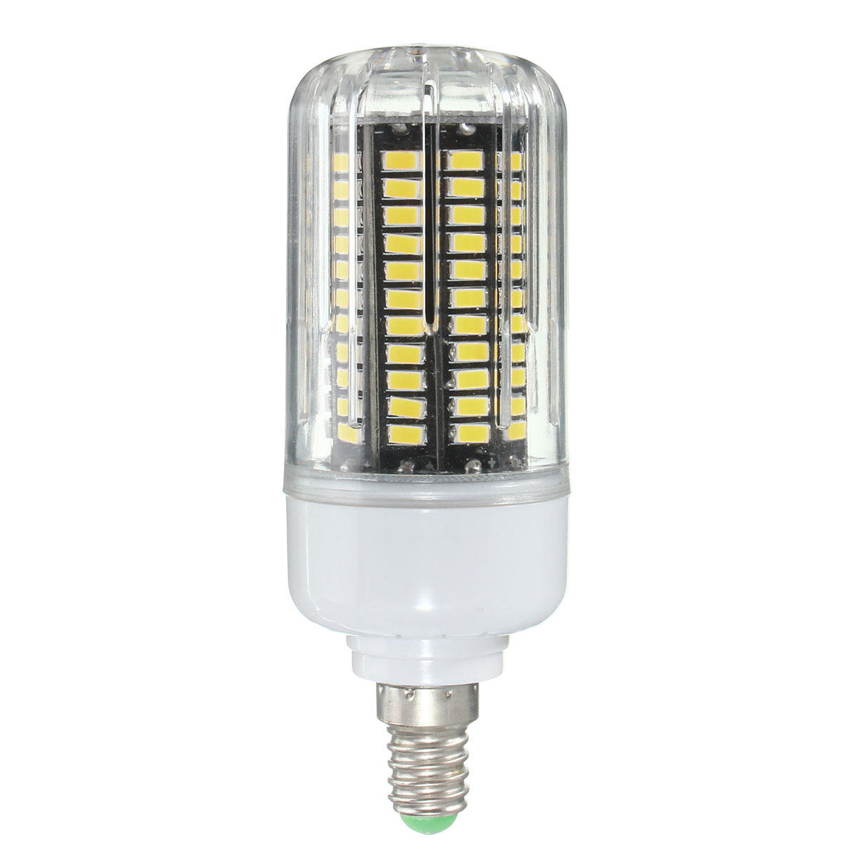 E27 E14 E12E E17 B22 15W 130 SMD 5736 LED Pure White Warm White Cover Corn Bulb AC85 265V - 7