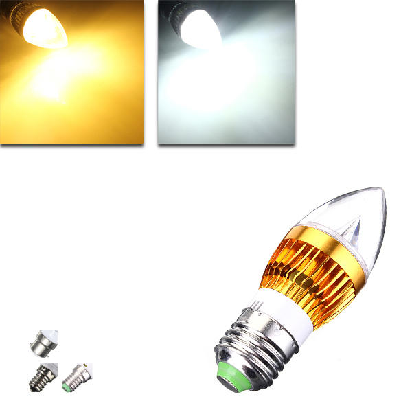 Non-Dimmable E27 E26 E12 E14 B22 9W 5730 SMD LED Corn Light Bulb Lamp AC110-265V - 1