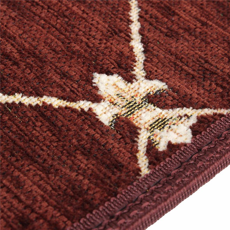 European Style Pastoral Carpet Stair Tread Anti Skid Step Rugs Stair Mats With Magic Paste - 5
