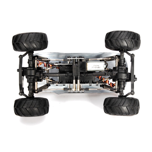 Wltoys 144001 1/14 2.4G 4WD High Speed Racing RC Car Vehicle Models 60km/h Two Battery - 6